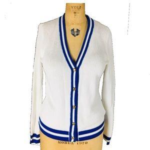 Lauren Ralph Lauren NWT White cardigan sweater